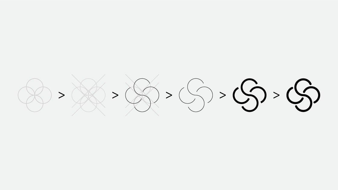 Costruzione logo Gidass forme geometriche