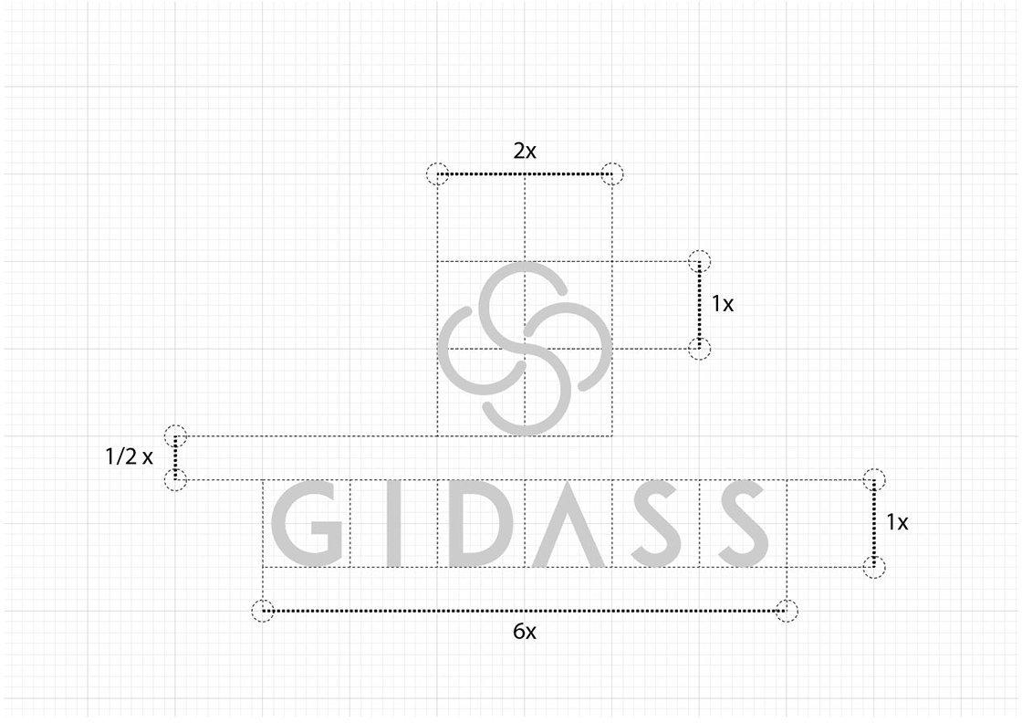 Griglia-costruzione logo GIDASS