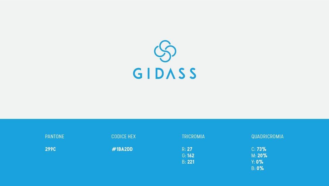 Logo GIDASS colore azzurro