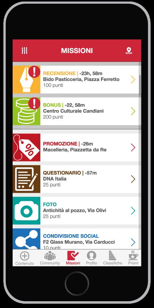 App Login Missioni 2