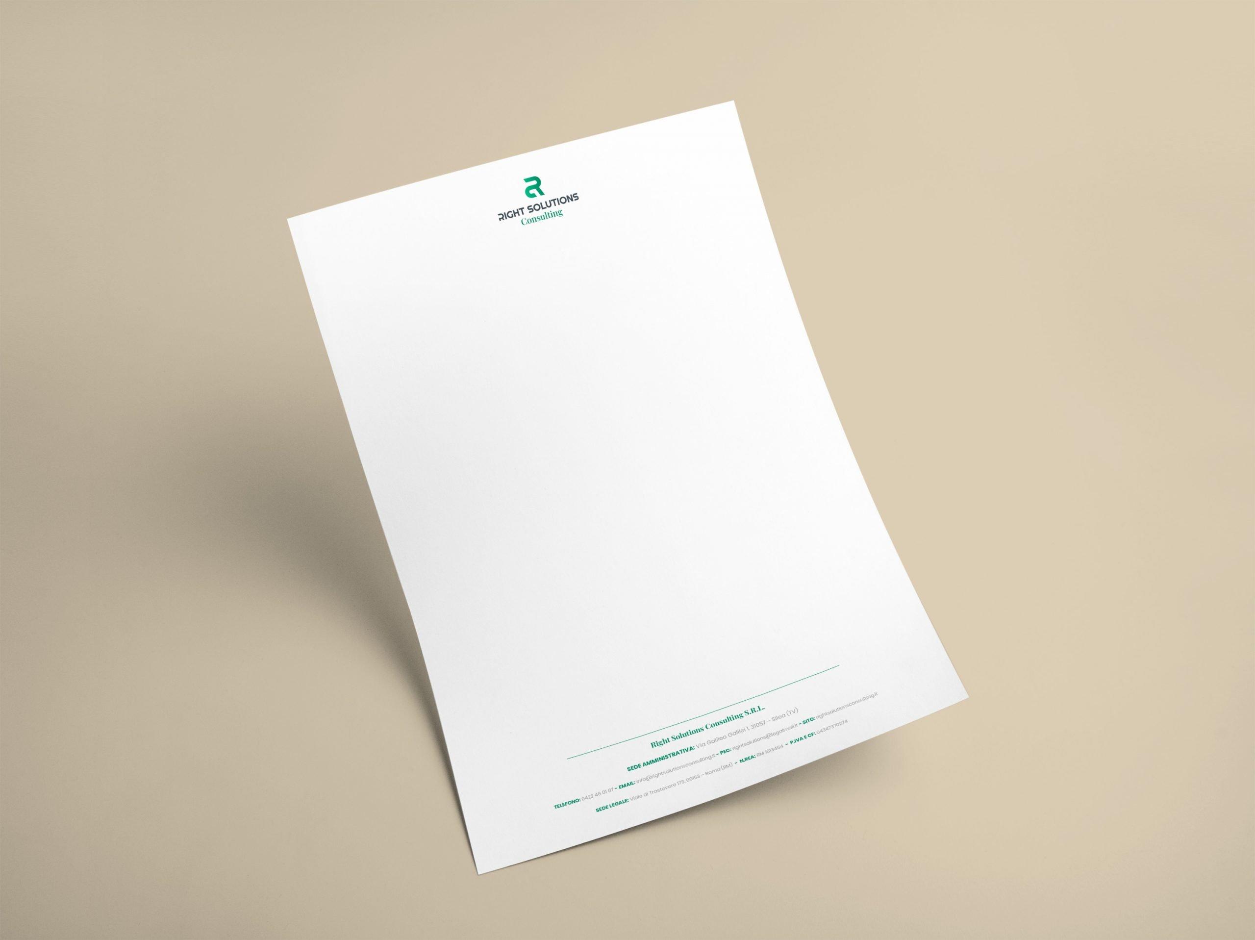 RSC Carta intestata